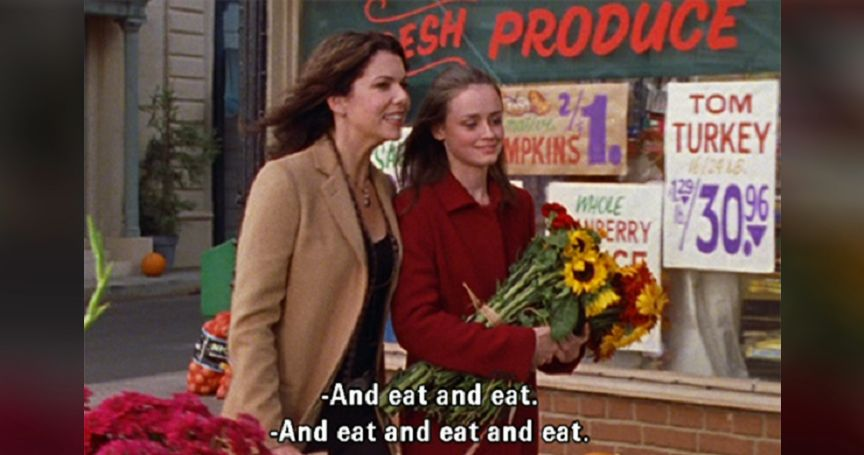 Image result for gilmore girls junk food
