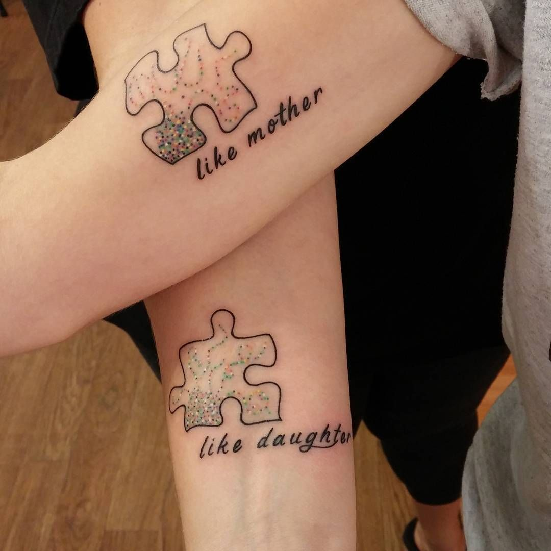 20 adorable mother daughter tattoos pt 2 thethings biocorpaavc Gallery