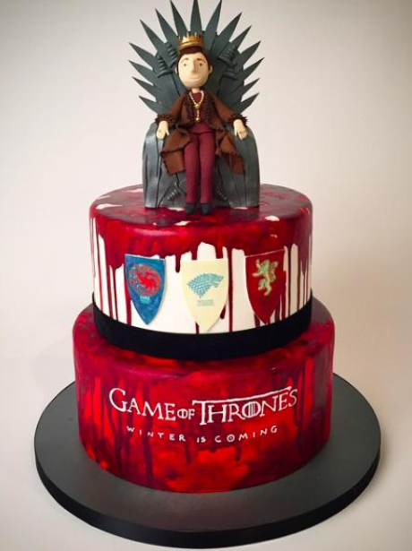 15 Incredible Cakes Inspired By Your Favourite Tv Shows