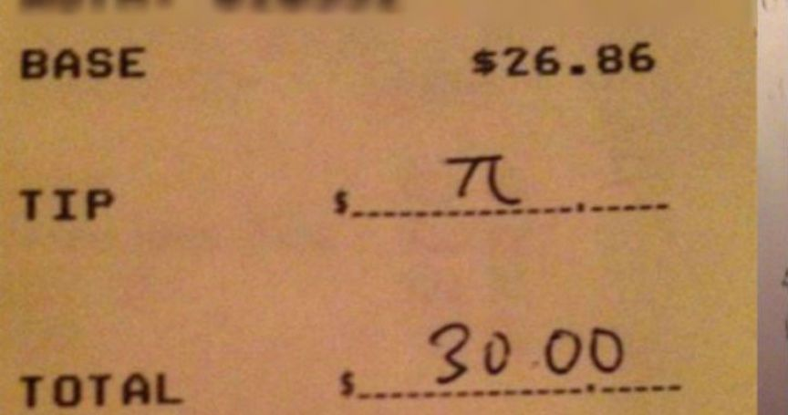 15 Hilarious Restaurant Receipts Guaranteed To Make You LOL