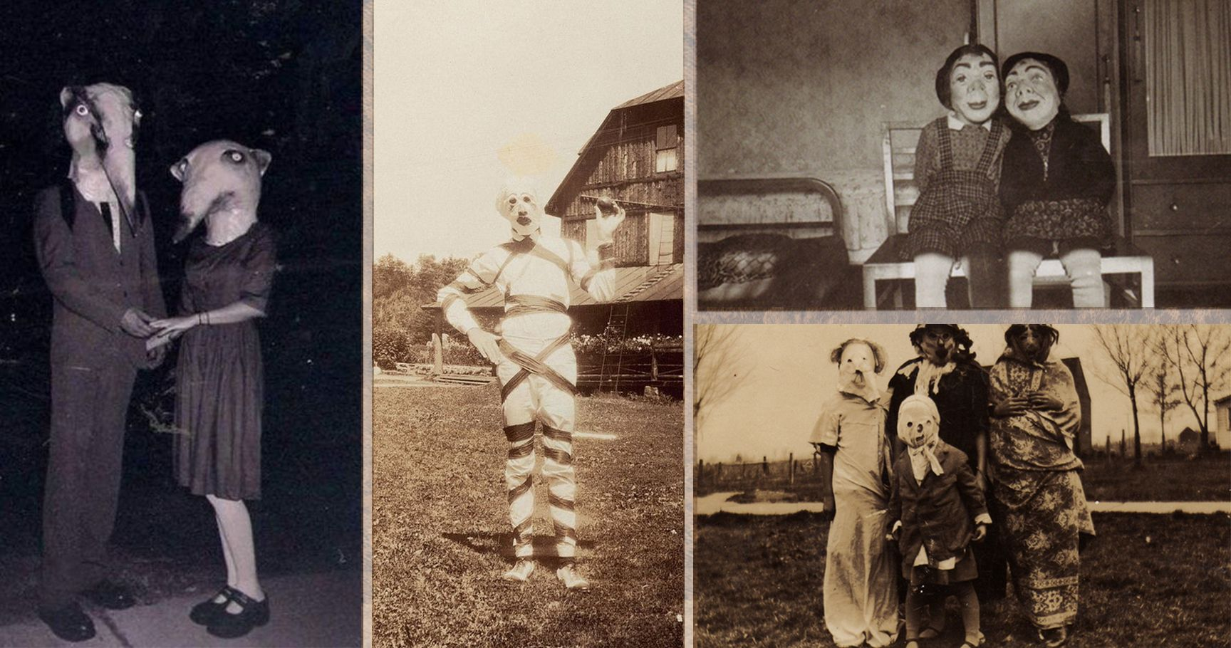 15 Vintage Halloween Costumes That Will Scare The Bejesus Out Of You