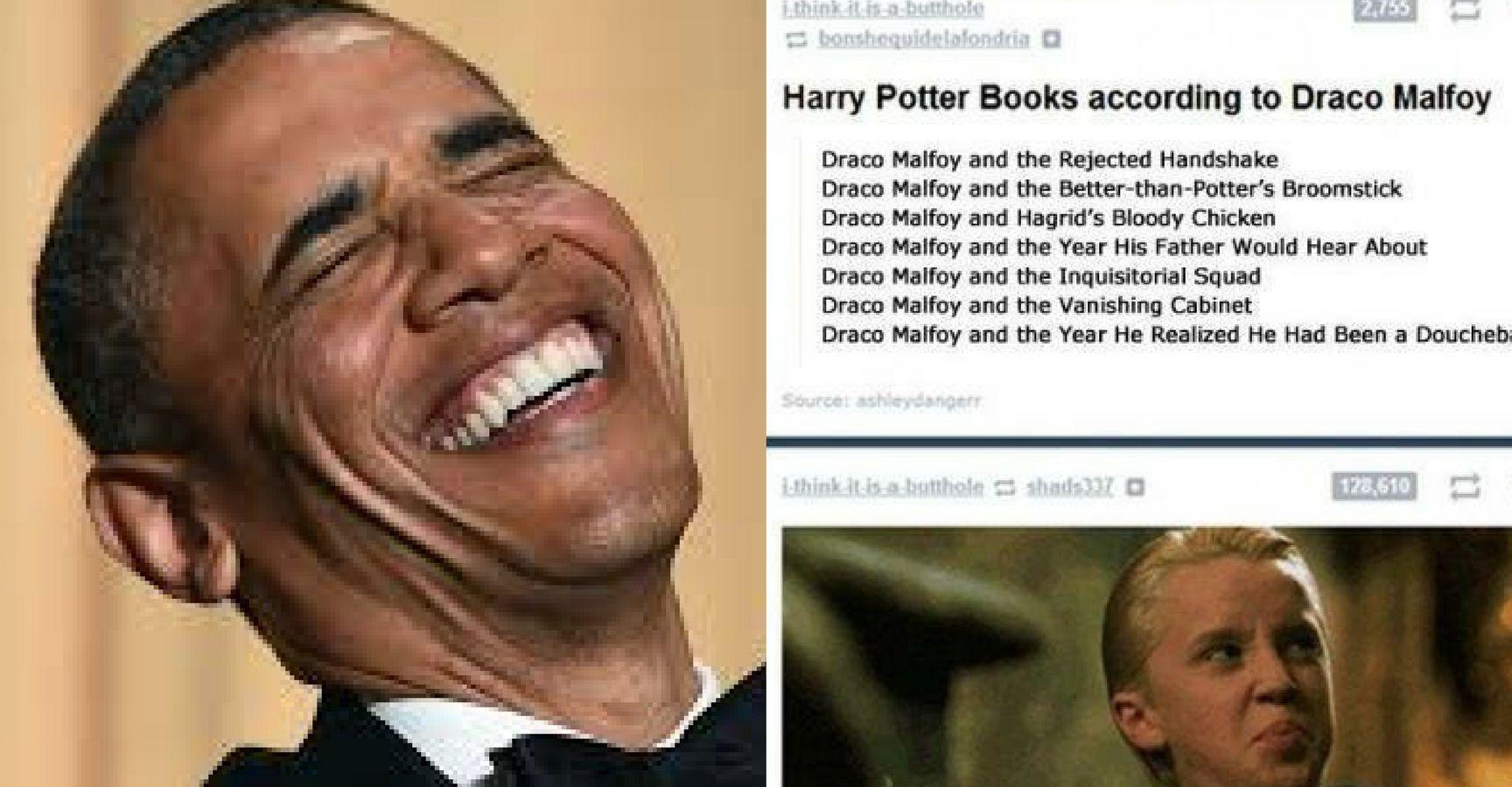 Funny Harry Potter Memes Draco : Draco roasts harry dank meme youtube