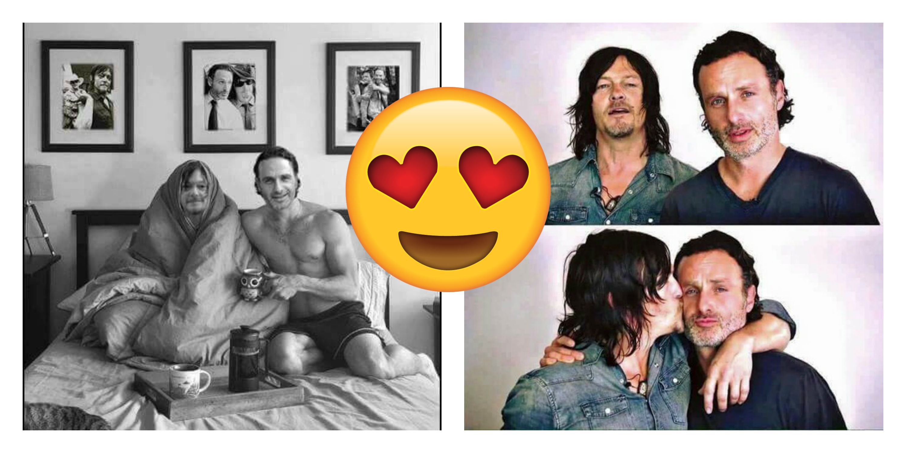 15 Must See Photos That Sum Up Andrew Lincoln S And Norman Reedus Bromance