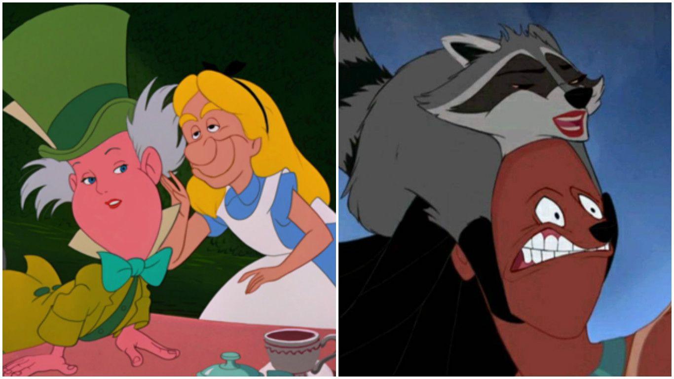 15 Horrifying Disney Face Swaps That Will Ruin Anyone's ...