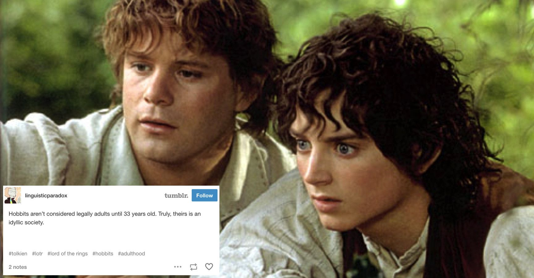 15 'Lord of The Rings' Tumblr Posts That Will Make Every Die
