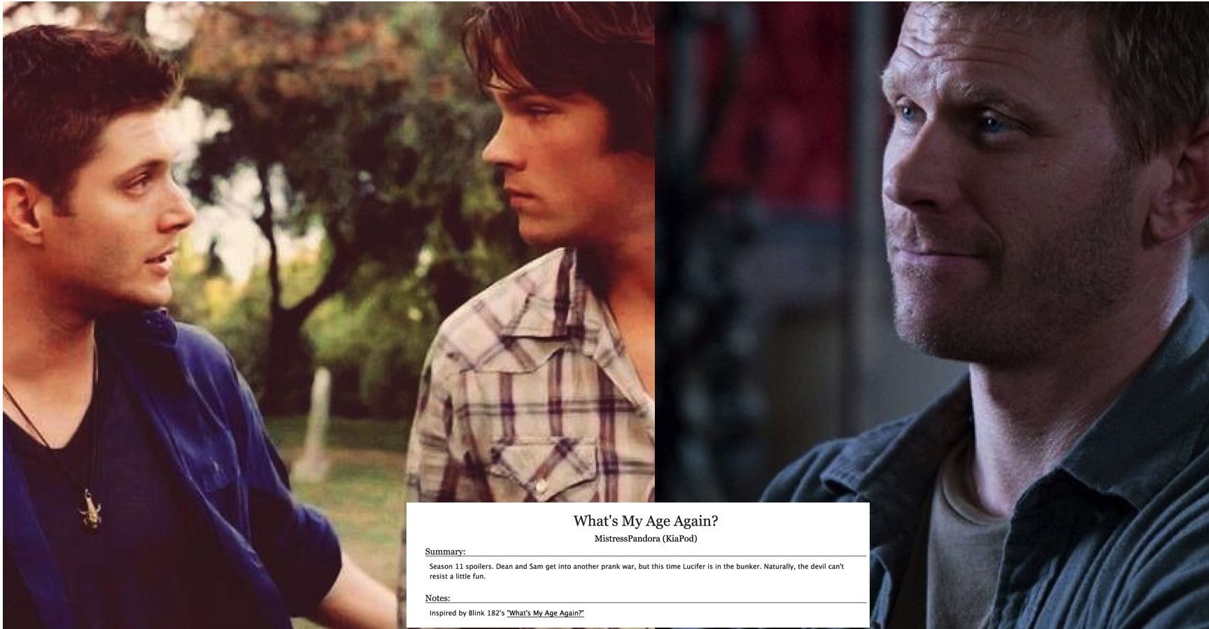 15 Hilarious Supernatural Fanfics That You Probably Have Never Ever