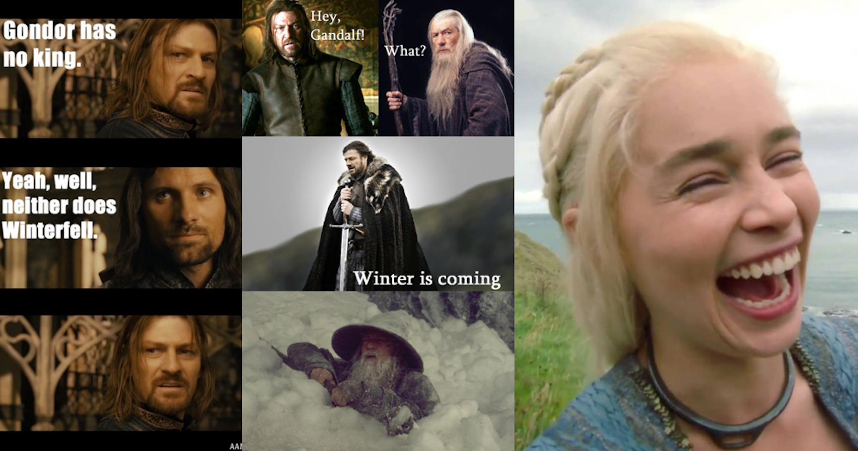 15 Hilarious AF 'Game Of Thrones'-'Lord Of The Rings' Crossover