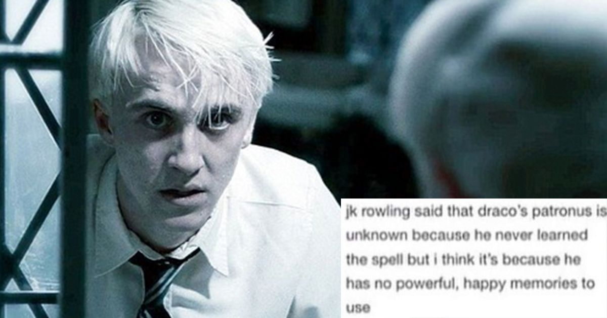 You'll All Love Draco Malfoy After This: 15 Tumblr Posts That Prove