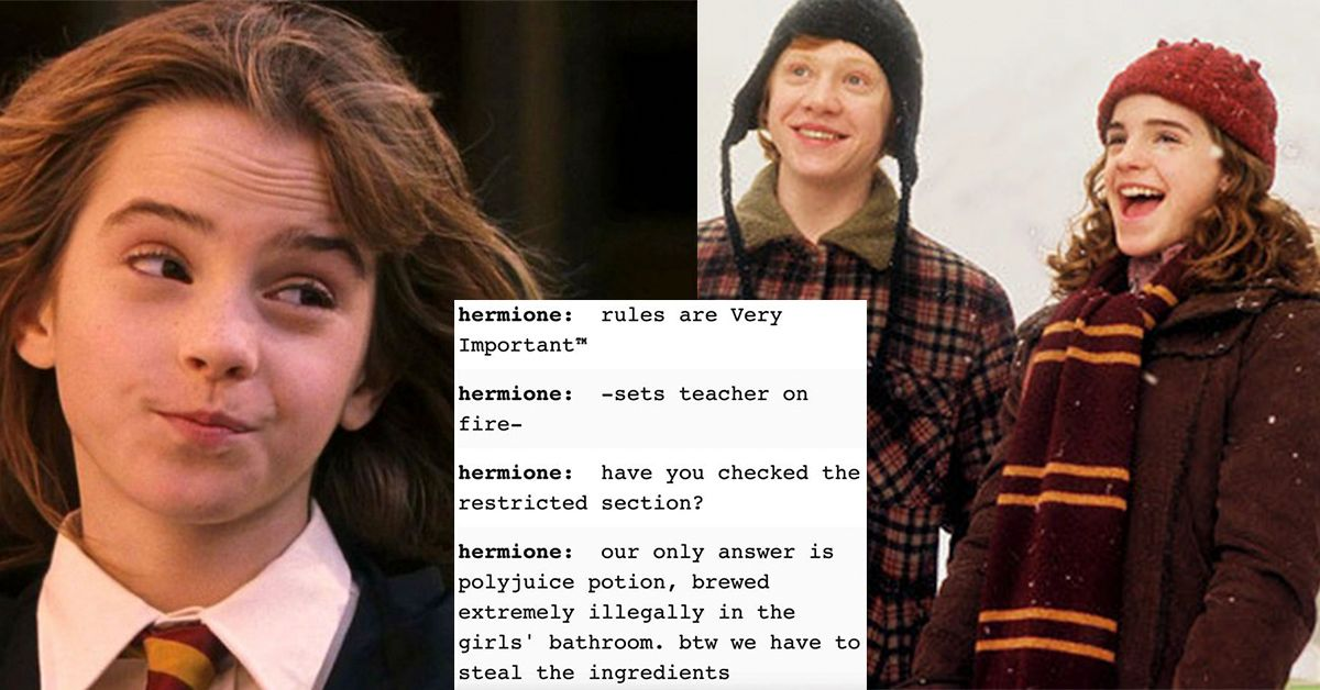 hermione granger memes that made us go from leviosa to leviosa