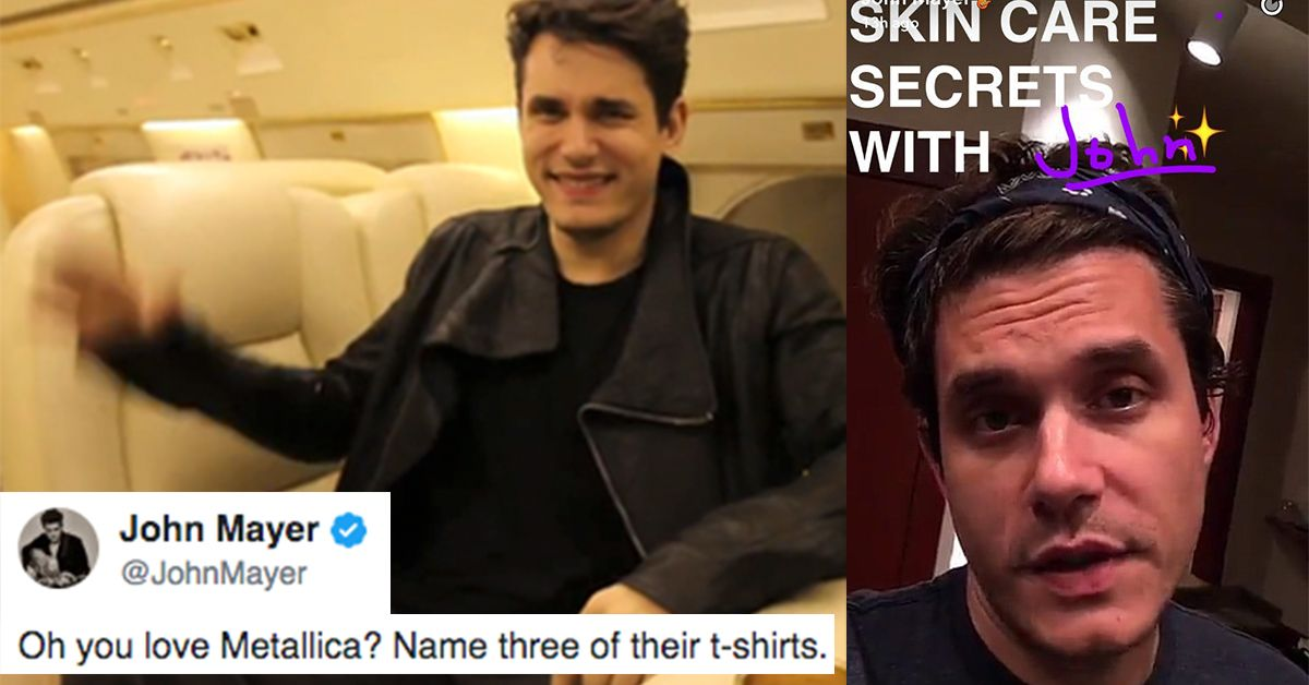 18 times john mayer was all shade on social media thethings m4hsunfo