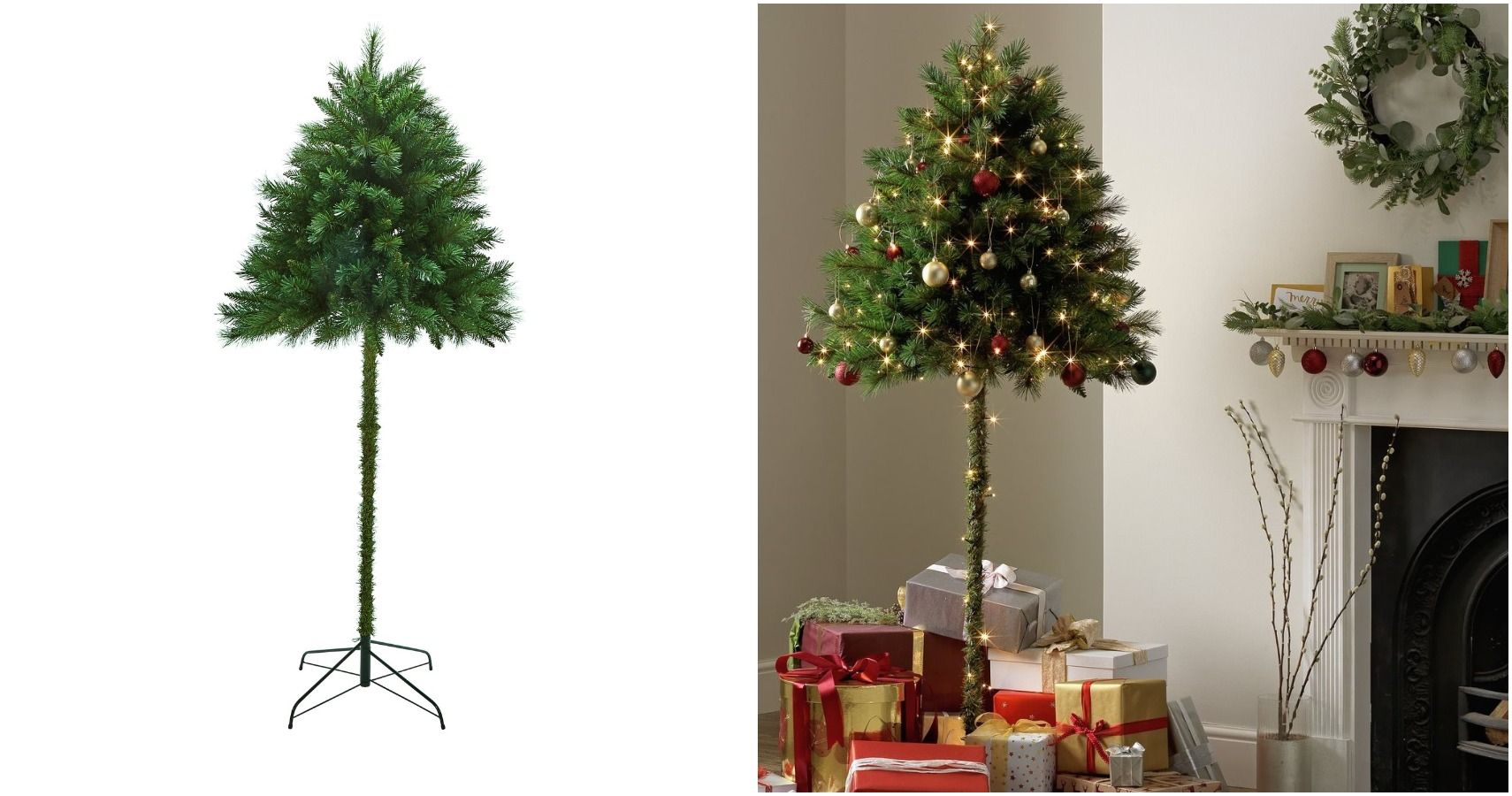 Argos' 'Half Christmas Trees' Are Perfect For Anyone With