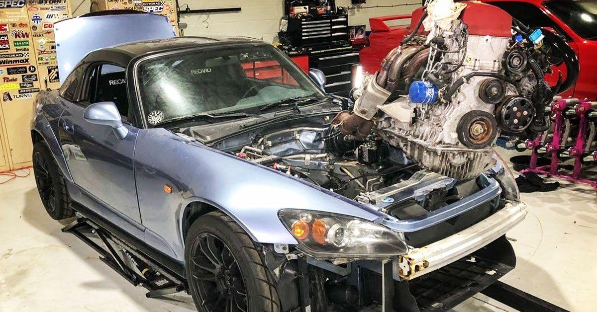 15 Sad Pics Of Failed Engine Swaps   TheThings