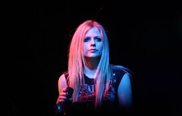 Avril Lavigne performs in Italy, 2014Via Wikimedia