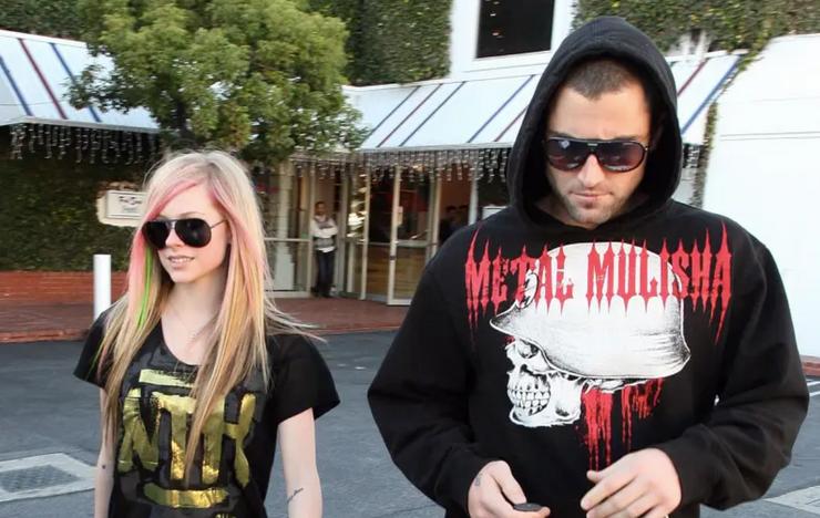 Avril Lavigne and her boyfriend, Brody Jenner in 2010Via Buzzphoto