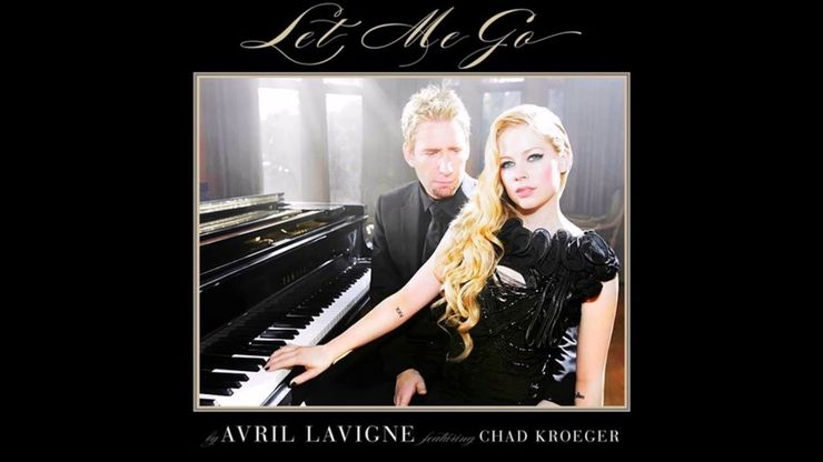 Avril Lavigne and her then-boyfriend, Chad Kroeger perform Let Me Go music videoVia Avril Lavigne/YouTube