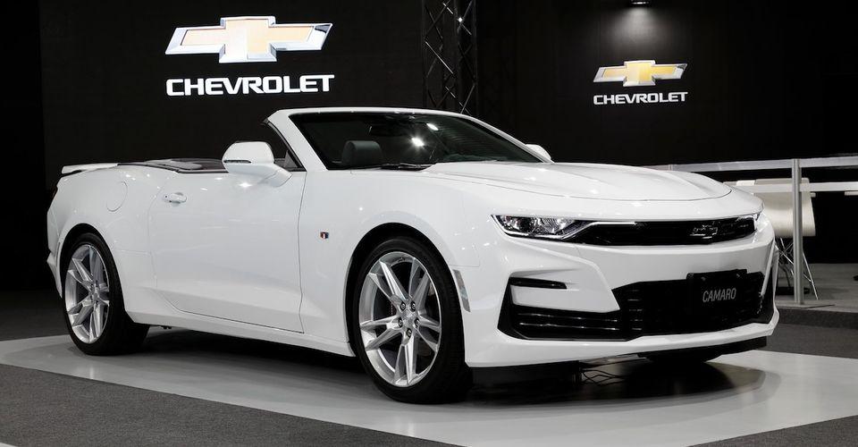 chevrolet camaro accessories announced autoevolution
