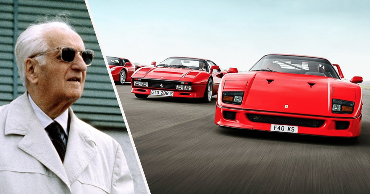 Tracks For Vehicles >> 15 Little-Known Facts About Enzo Ferrari And His Sports ...