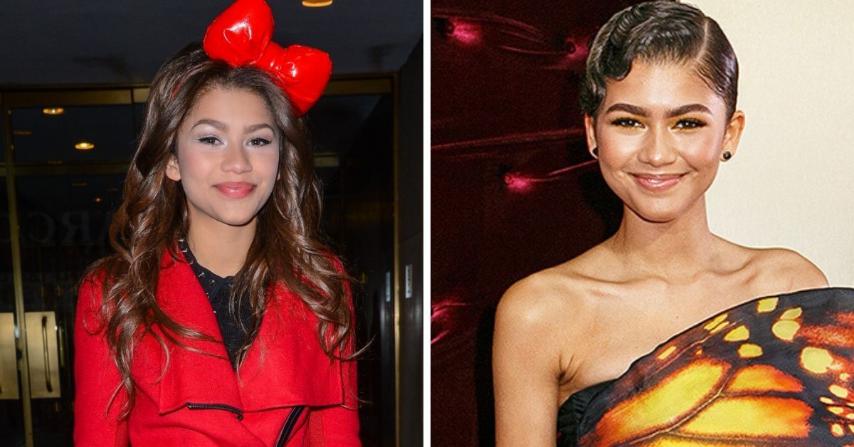 15 Photos Of Zendaya's Transformation Over The Years