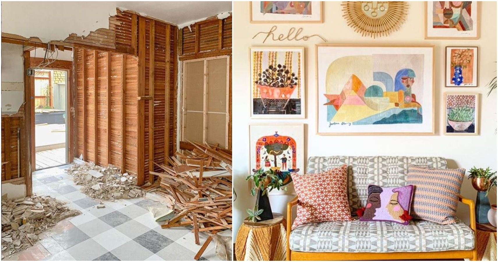 10 Most Satisfying Before And After Room Makeovers On Instagram
