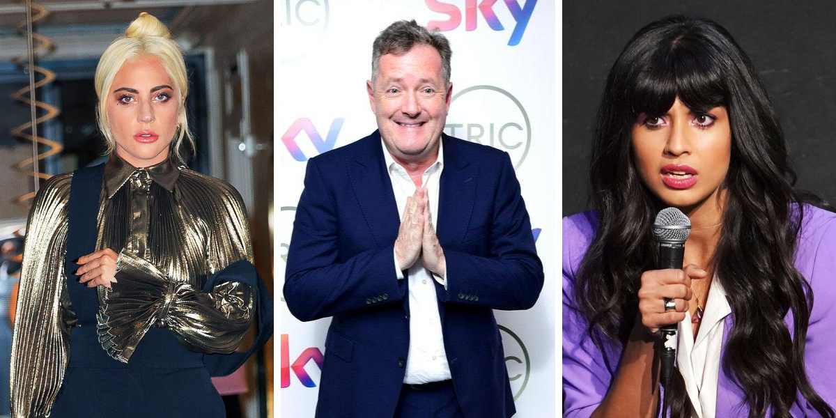 Jameela Jamil And Other Celebs Who Have Feuded With Piers Morgan