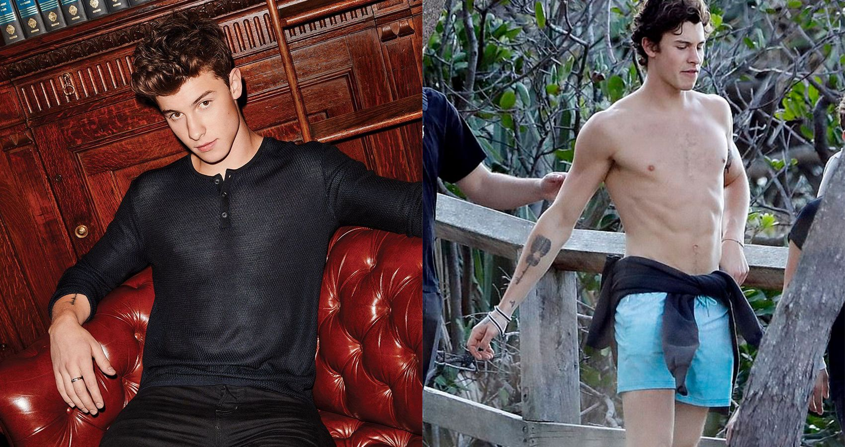 Shawn Mendes Shows Off His Insanely Toned Abs... Thanks To