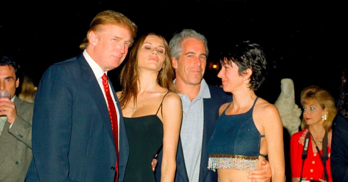 Alec Baldwin Cleverly Highlights Donald Trump's Support Of Ghislaine Maxwell