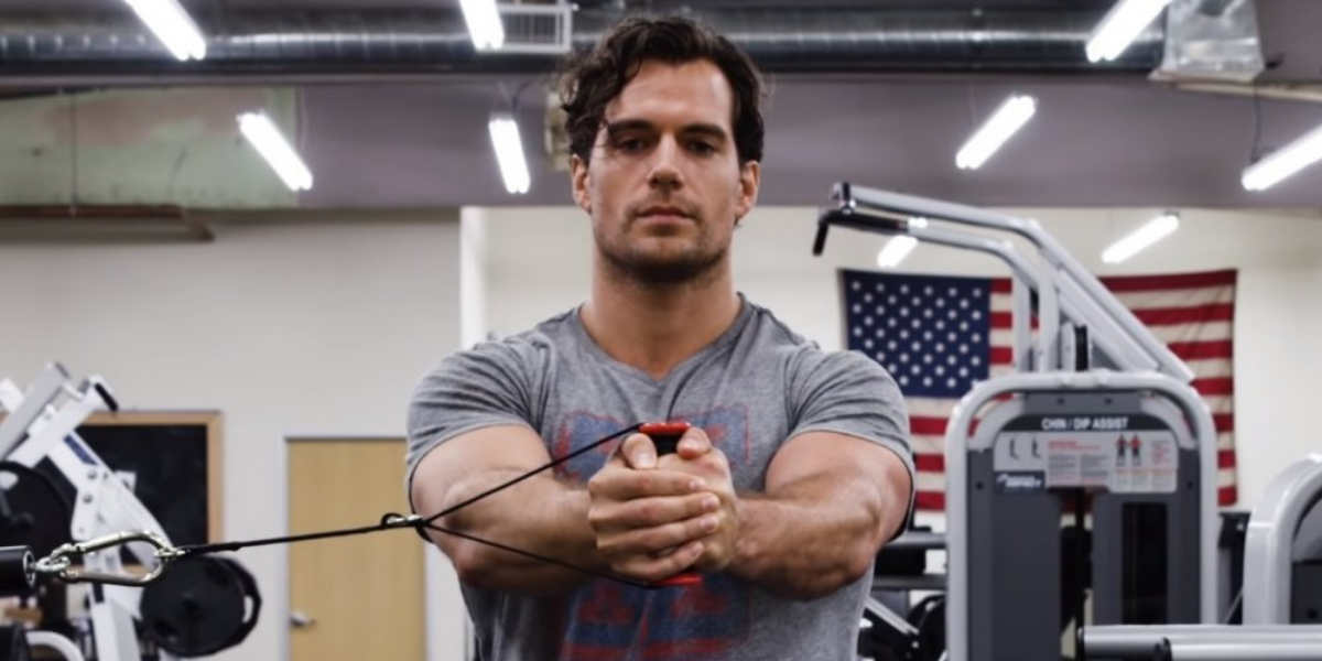 Henry Cavill Is Still Finding Ways To Keep Us All In Shape Virtually