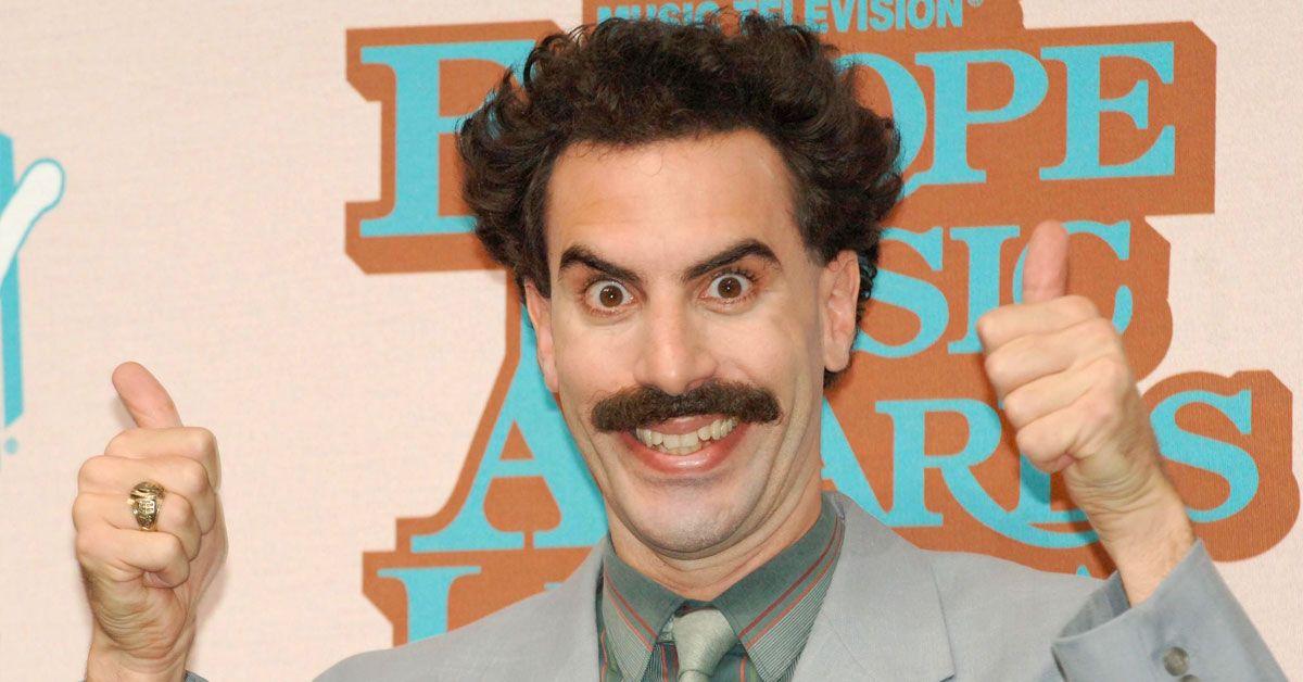 'Borat' Gives Jimmy Kimmel An Unofficial Coronavirus Physical Inspection