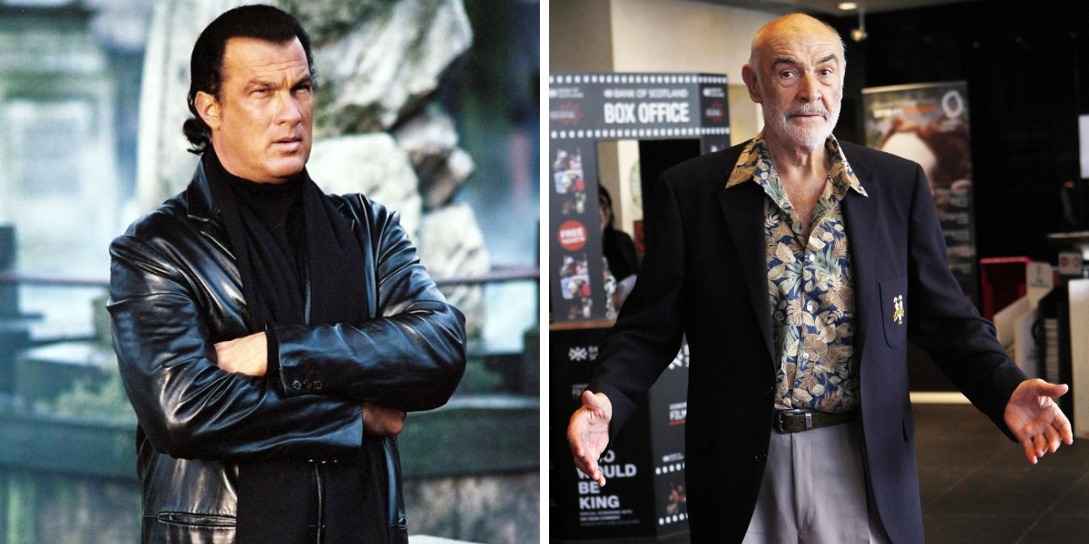 Here's Why Steven Seagal Once Knocked Sean Connery Out