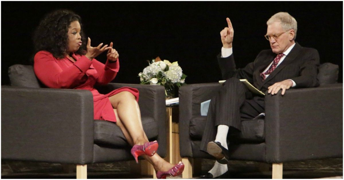 Why David Letterman And Oprah Were In A Feud