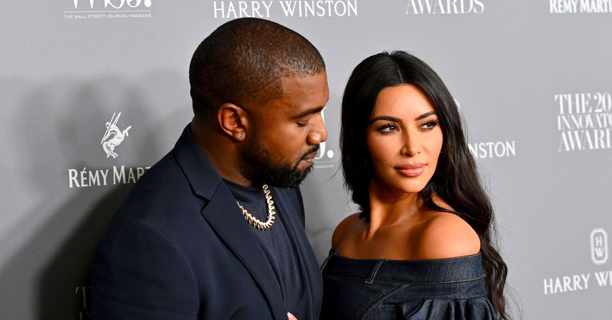 Kim Kardashian's Recent Post Leads Fans To Believe She's Broken Up With Kanye West