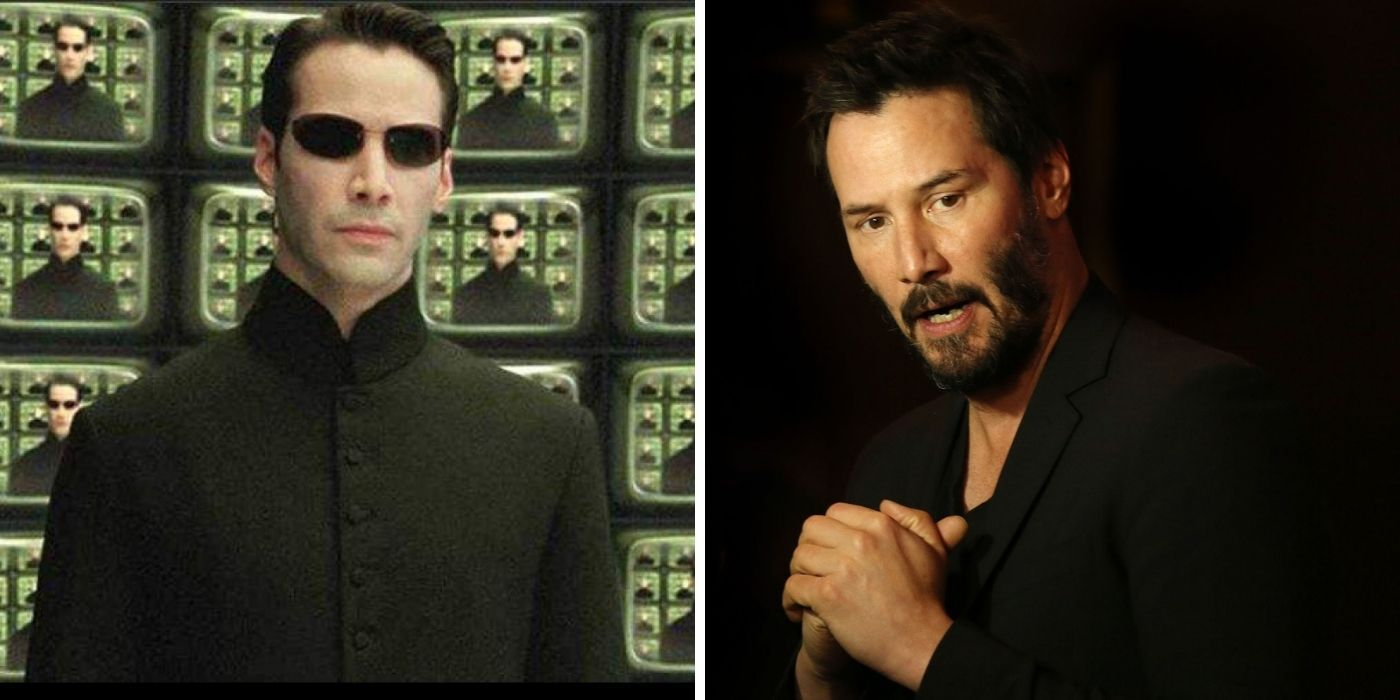 Fans Think Keanu Reeves Shaved His Eyebrows For The Matrix