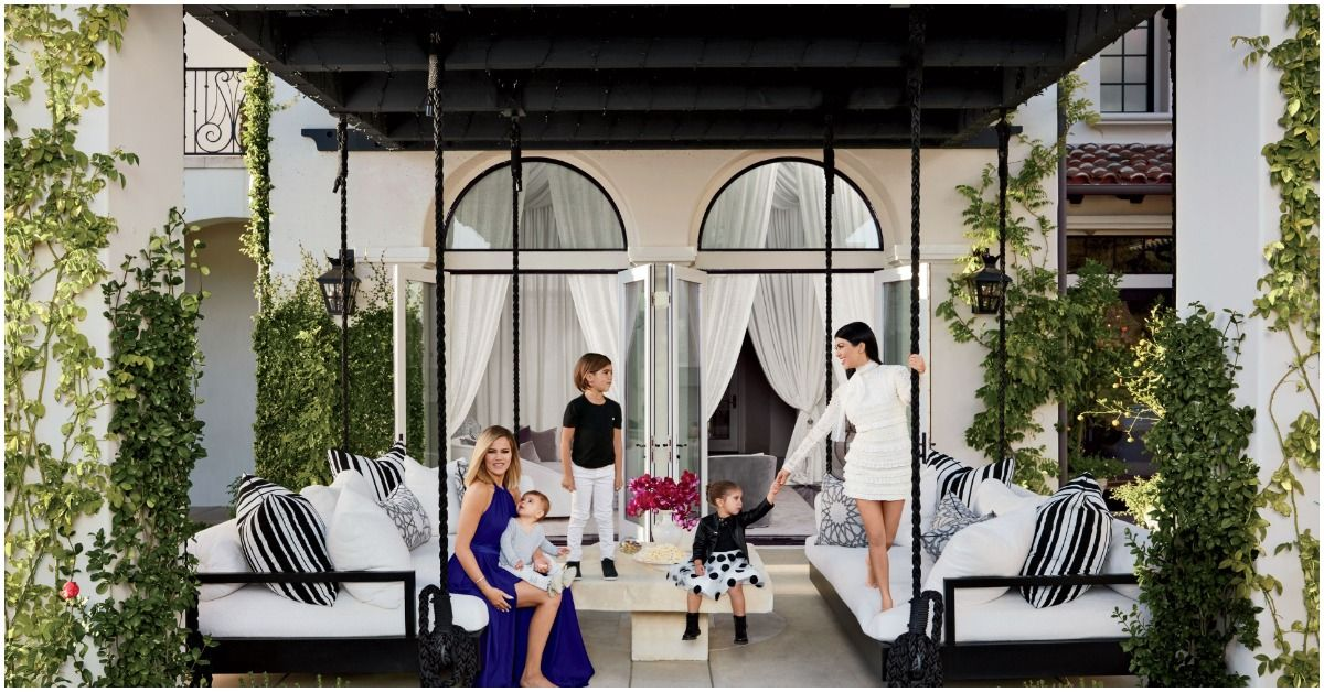 A Look Inside Kourtney Kardashian's Classically Elegant Home