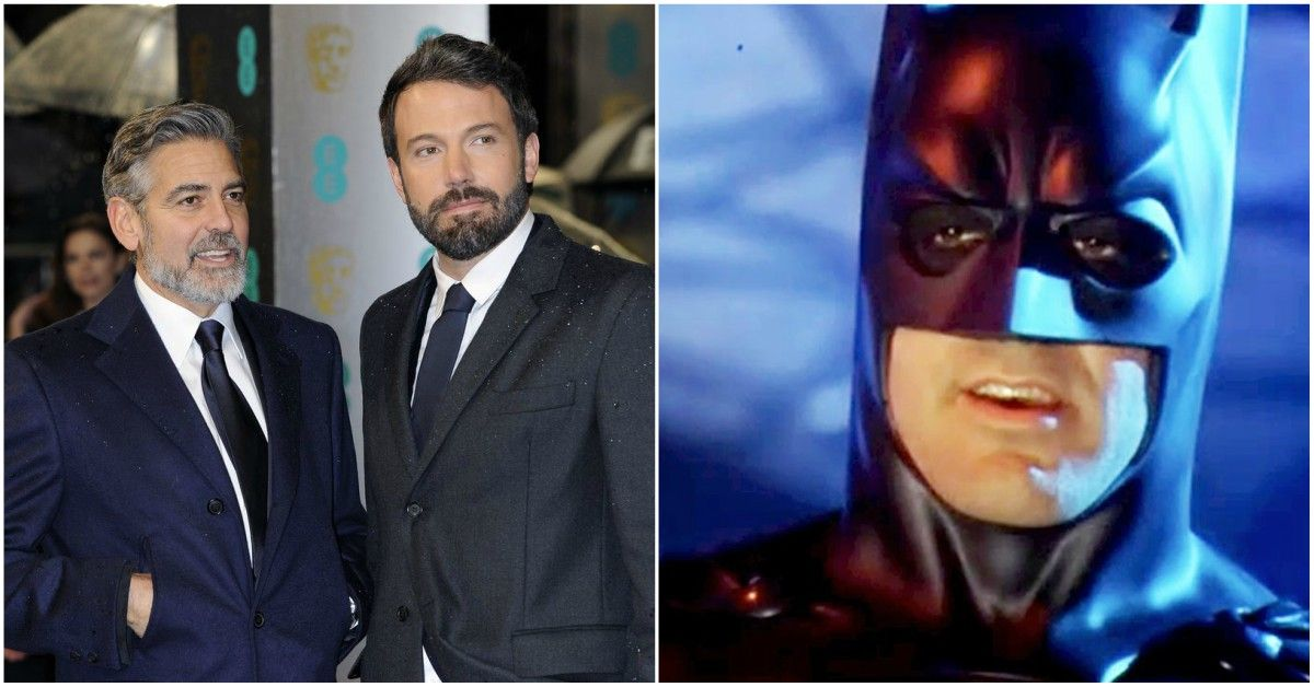 Why George Clooney Told Ben Affleck Not To Play Batman