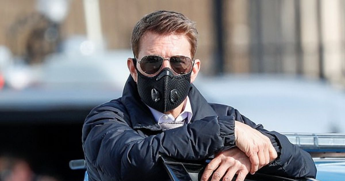 Tom Cruise Trolled Again After He Sports Face Mask Not Recommended By CDC
