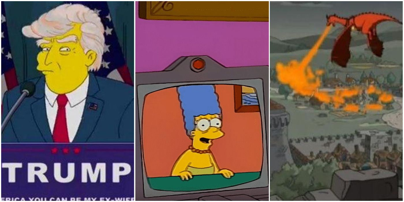 The Simpsons: 10 Most Accurate Predictions That Came True