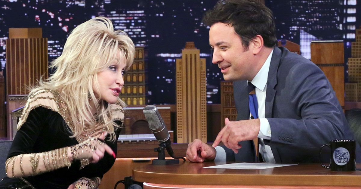 Jimmy Fallon Celebrates Dolly Parton's Birthday By Turning Into Her