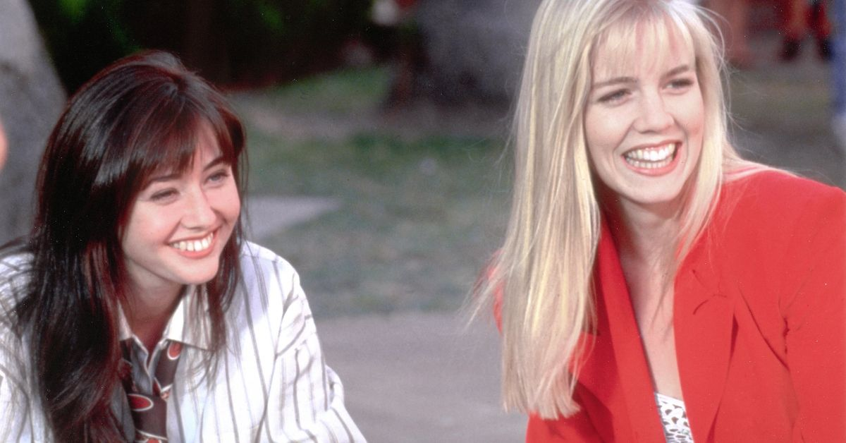 Did Jennie Garth And Shannen Doherty Really Have A Fight On The 'Beverly Hills 90210' Set?