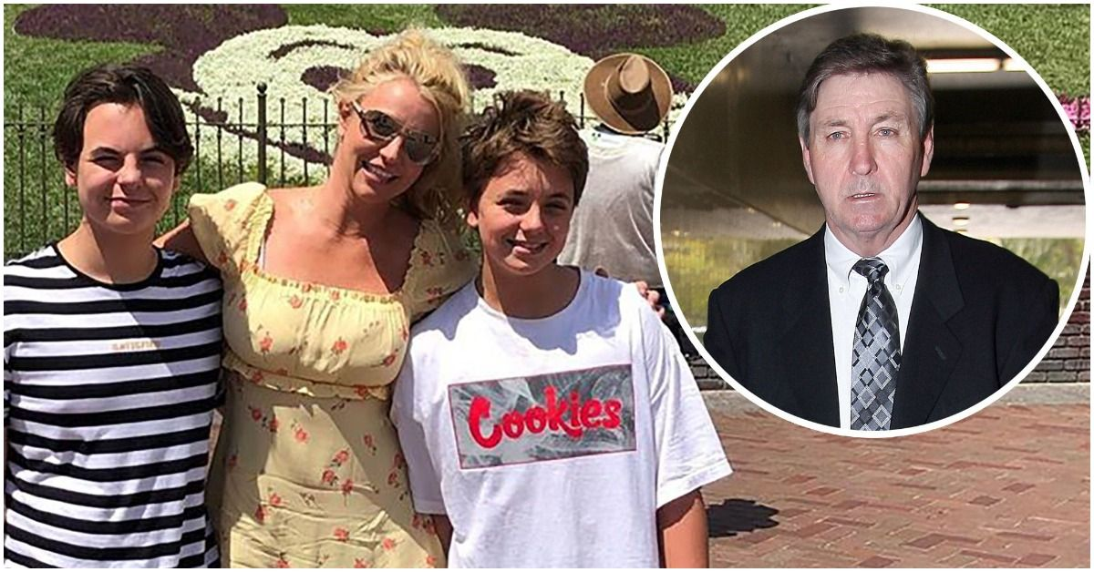 What Kind Of Relationship Do Britney Spears' Sons Sean And Jayden Have With Their Grandfather Jamie