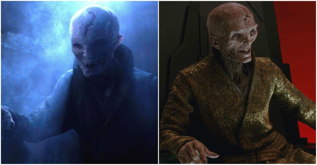 The Real Reason Snoke Was Changed Between 'The Force Awakens' And 'The Last Jedi'