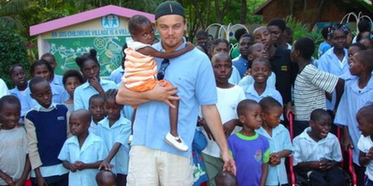 Why Leonardo DiCaprio 'Adopted' A South African Baby Girl