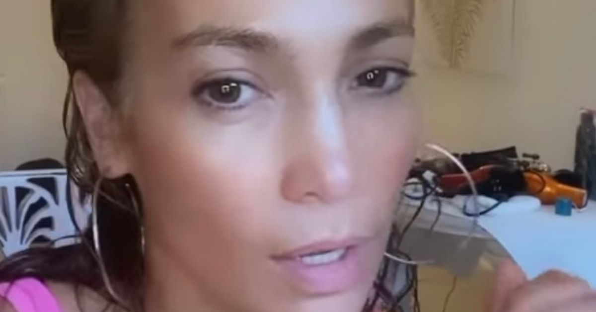 Jennifer Lopez Accused Of Using 'A Million Filters' To Promote Her Skincare Line