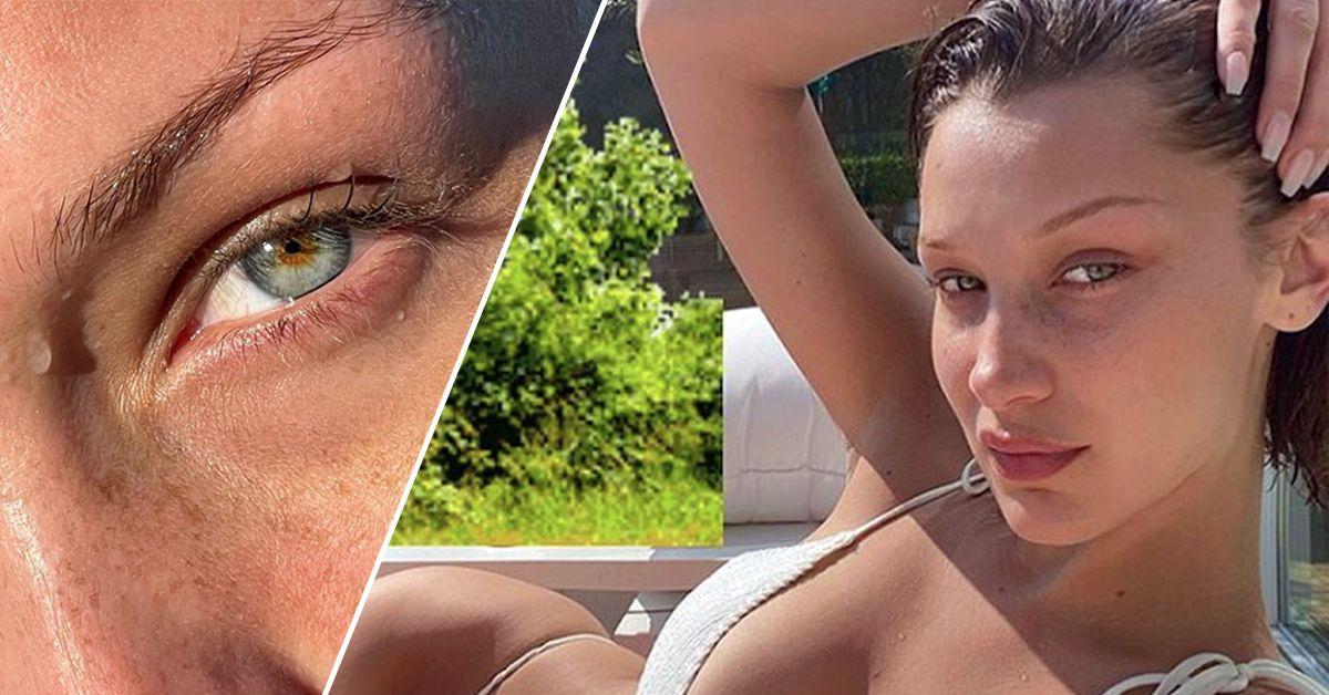 Bella Hadid Gets Artsy With Another Bikini Photo Shoot