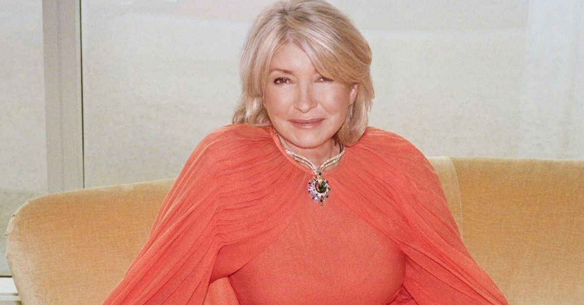 Martha Stewart Looks Just As Gorgeous As She Did In 1960 For 'Harper's Bazaar'