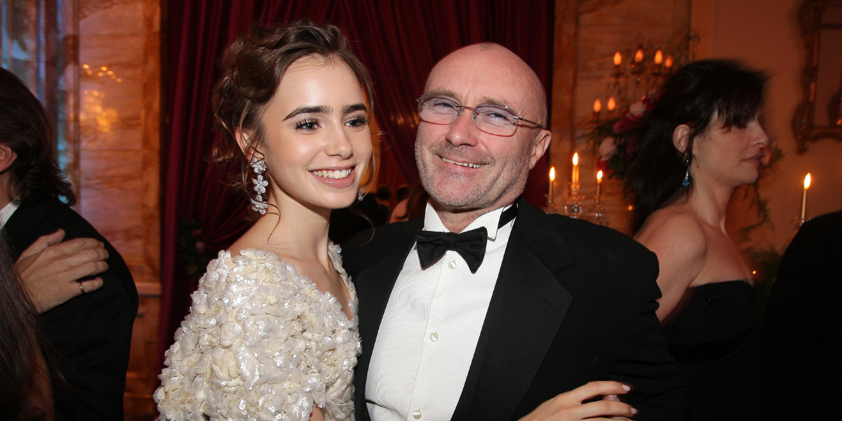 Inside Phil Collin's Complicated Relationship With His Daughter, Lily Collins