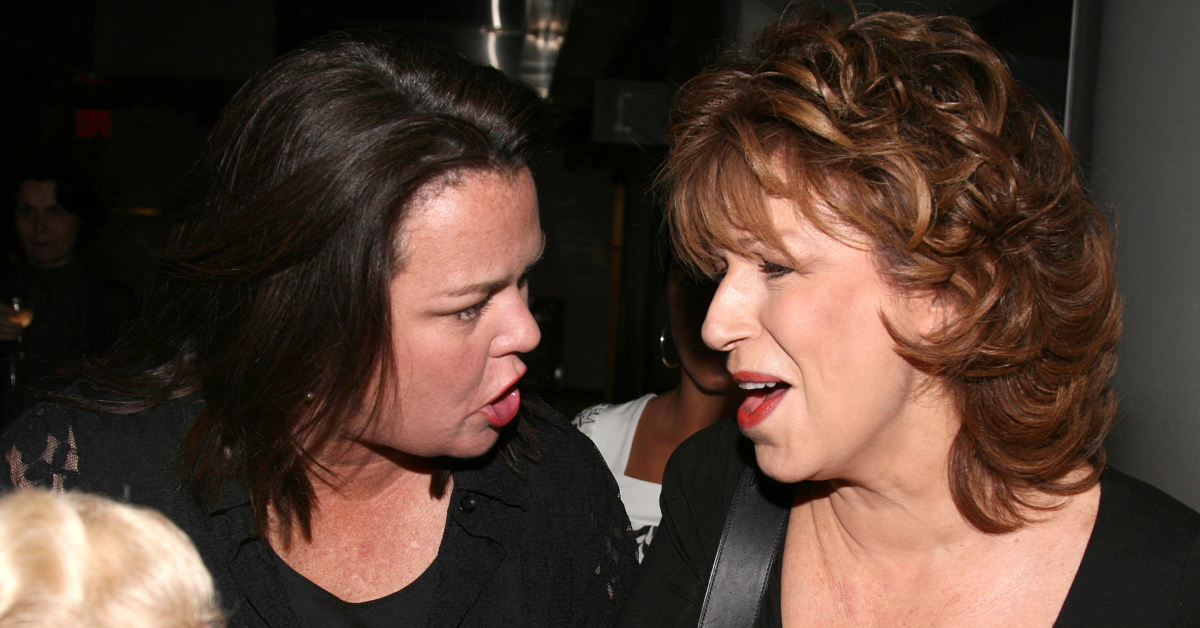 Joy Behar Thinks Rosie O'Donnell Changed 'The View' Forever, Here's Why