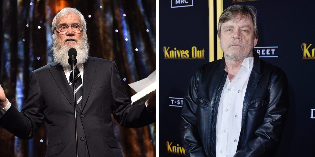 The Truth About Mark Hamill's Relationship With David Letterman