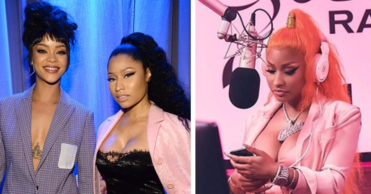 What Led To The Alleged Feud Between Rihanna And Nicki Minaj?