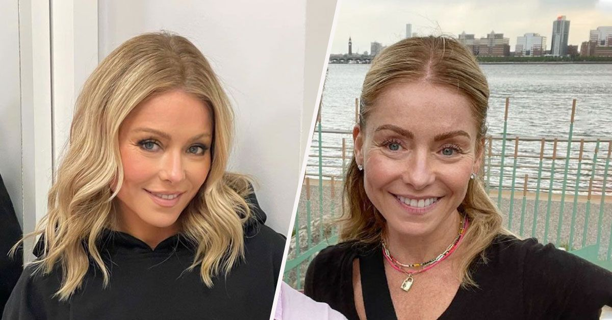 Kelly Ripa Looks Unrecognizable Without Makeup On