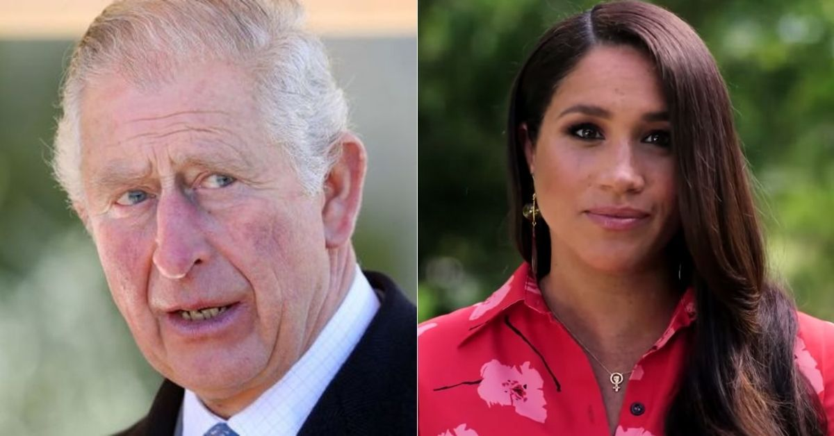 Royal Expert Claims Prince Charles 'Deliberately' Left Meghan Out Of Archie Tribute